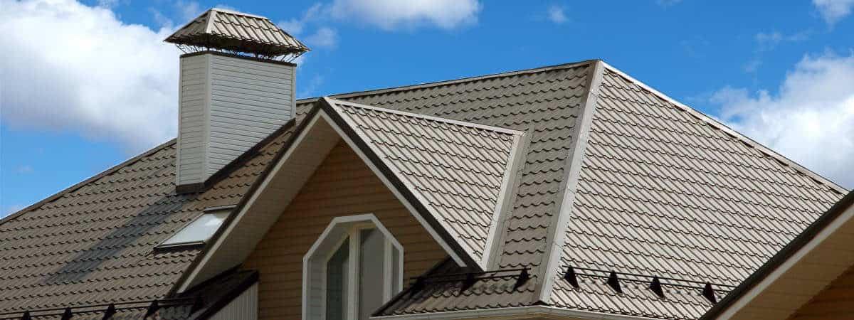 фото металлочерепицы на крыше